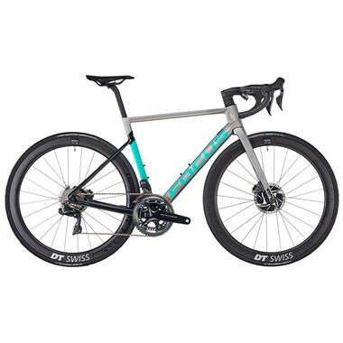Vélo de Course FOCUS IZALCO MAX DISC 9.9 Shimano Dura Ace Di2 9100 36/52 Argent 2020